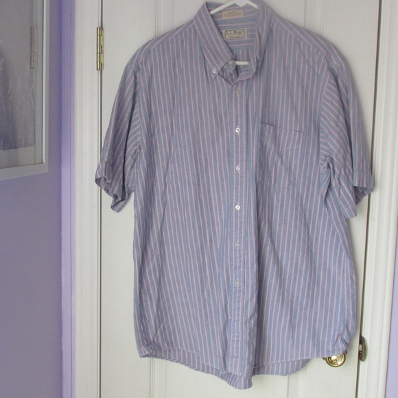 b7b91b1f49 L.L. Bean Shirts | Vtg Ll Bean Blue And Pink Stripe Shirt | Poshmark